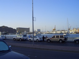 Город Маттра и море.